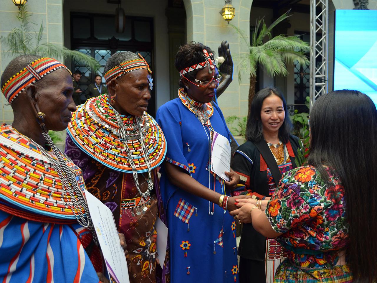 Voices of indigenous women in Africa in favor of the full exercise of their rights