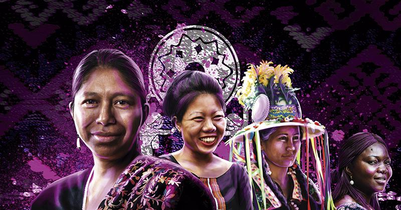 Mujeres indígenas, agentes de cambio