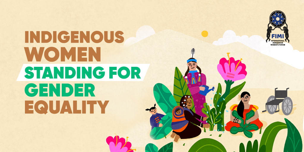 Indigenous Women Standing for Gender Equality