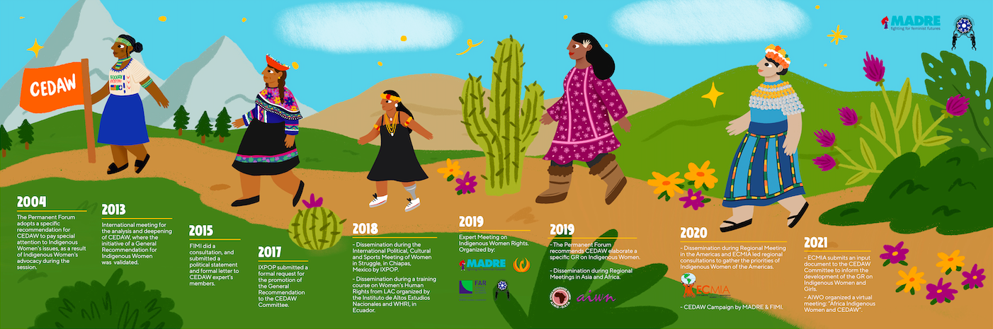 CEDAW for Indigenous Women and Girls: Filling the gap for the path ahead
