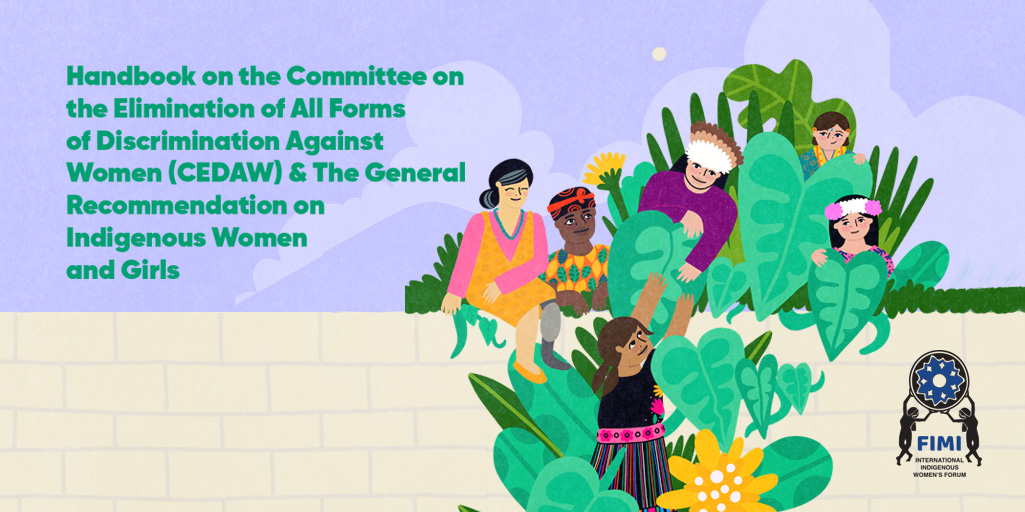 Handbook CEDAW and the General Recommendation on Indigenous women and girls